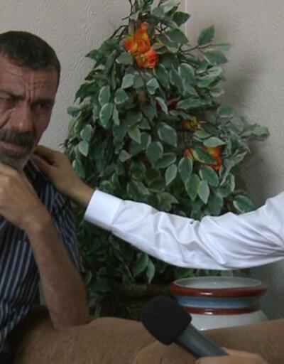 Cüneyt Özdemir gözyaşlarını zor tuttu