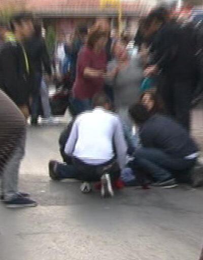 Polisi satırla yaralayan gence karakolda dayak iddiası