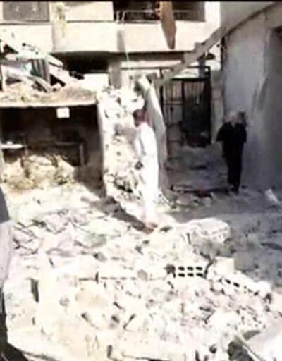 Suriye rejimi sığınmacı kampını vurdu!