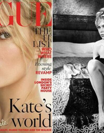 Kate Moss, Brigitte Bardot oldu