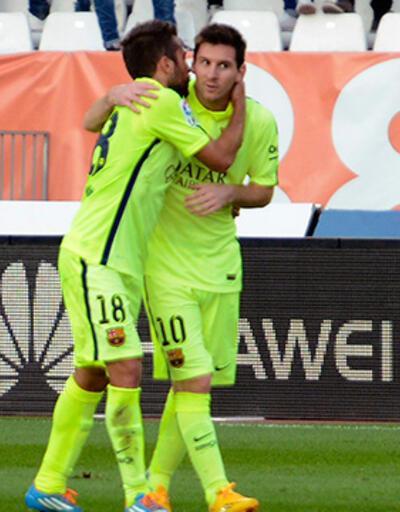 Almeria - Barcelona: 1-2 (maç özeti)