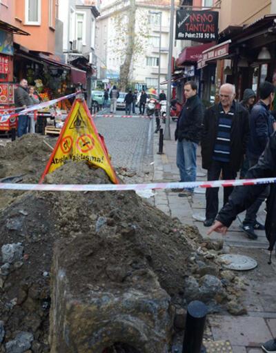 BEDAŞ kepçesi doğalgaz borusunu patlattı