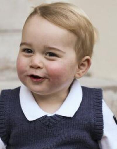 Prens George interneti esir aldı