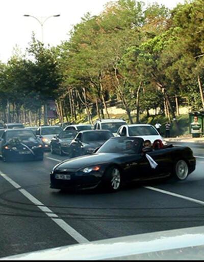 İstanbul trafiğinde büyük rezalet!