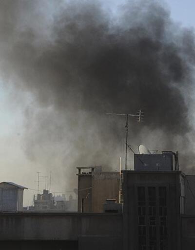 Suriye'de başkent Şam'a saldırı