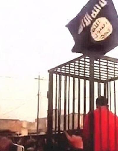 IŞİD 17 peşmergeyi kafes içinde sokak sokak gezdirdi