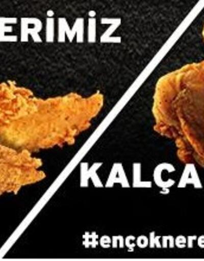KFC'den tepki çeken reklam