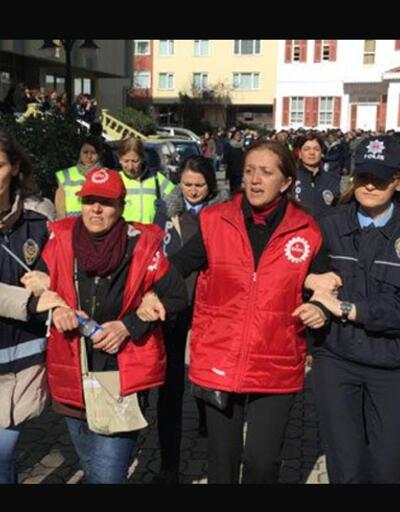 DİSK Genel Sekreteri Arzu Çerkezoğlu serbest