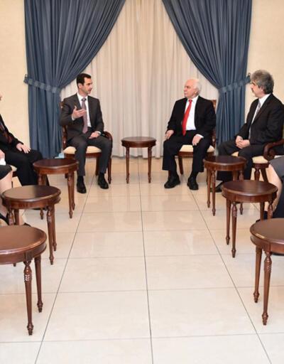 Perinçek ve Vatan Partisi üyeleri Şam'dan döndü