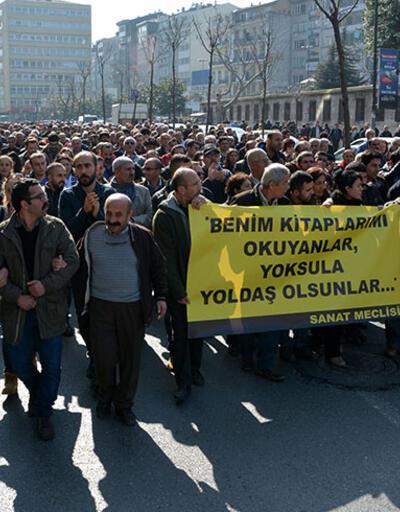 """Sanat Meclisi'nden tepki: """"Yaşar Kemal'i halktan çalmak kimsenin haddi değil"""""""