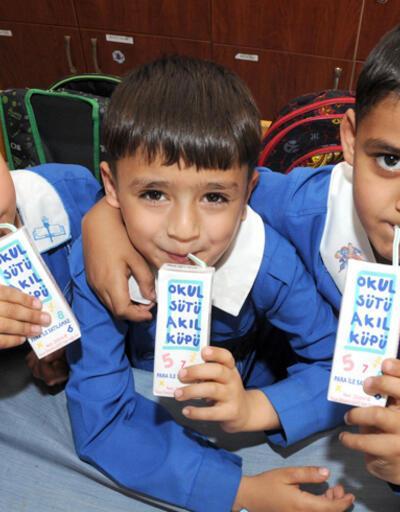 Okullarda süt, kuru üzüm dağıtılacak