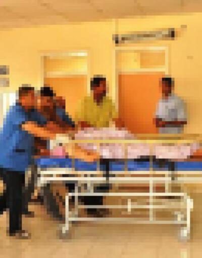 Sedyeden düşen hasta beyin kanamasından öldü iddiası
