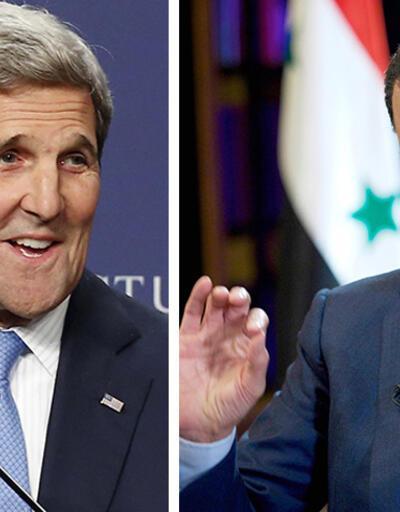 """Esad'dan Kerry'nin """"müzakere"""" açıklamasına yanıt"""