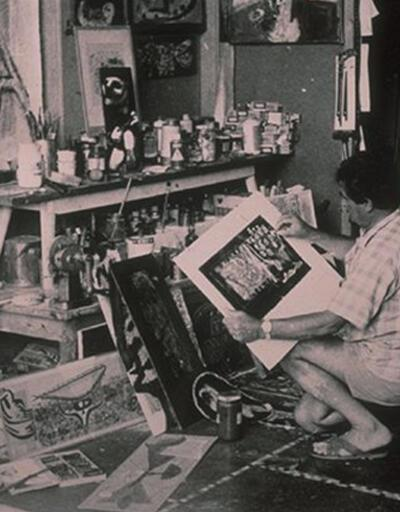 Bedri Rahmi Eyüboğlu'nun mektupları İş Sanat Kibele Galerisi'nde