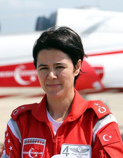 Gösteri timi Türk Yıldızları'nda artık bir de kadın pilot var