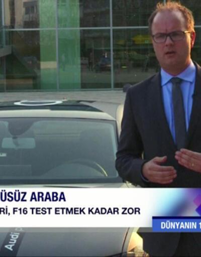 Almanya'nın yeni teknoloji icadı: Sürücüsüz arabalar