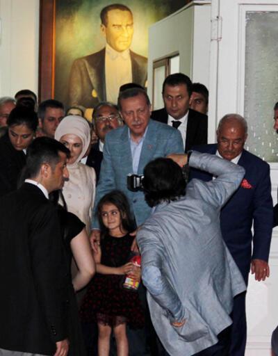 Cumhurbaşkanı Erdoğan'dan MHP'li belediyeye süpriz ziyaret