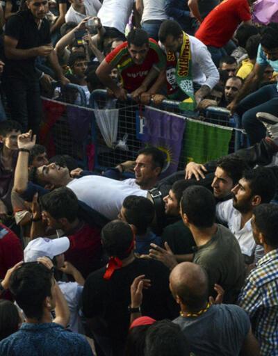 Fotoğraf kareleriyle Diyarbakır'daki patlama sonrası