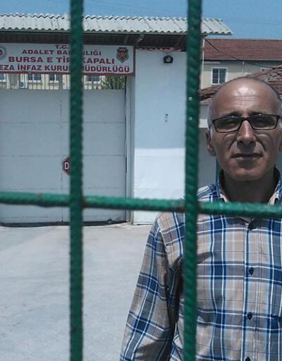 Erdoğan'ı protesto etti, cezaevine girdi