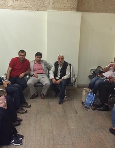 İsrail'de 4'ü gazeteci 9 Türk gözaltına alındı