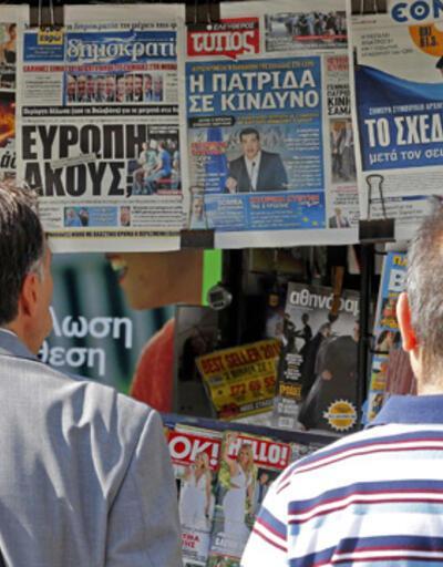 Yunanistan'da halk sonuçtan umutlu