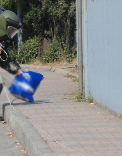 Ataşehir'deki şüpheli paketten galeta çıktı