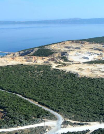 Taş ocakları Saros Körfezi'nde doğayı öldürüyor