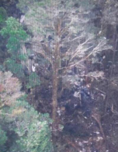 Endonezya'da düşen uçağın enkazına ulaşıldı