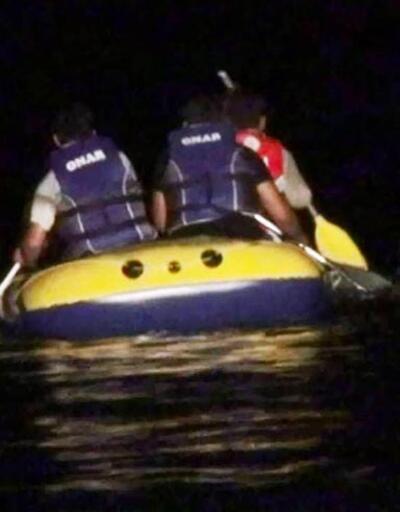 Bodrum'dan Kos'a geçmeye çalışan göçmenlerin teknesi battı, 1 kişi öldü