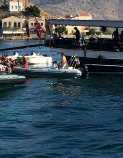 Simi Adası açıklarında 1 kişi hayatını kaybetti!