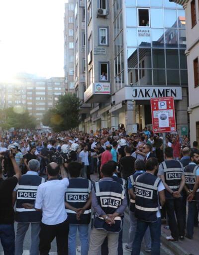 Samsun'da yürüyüş gerginliği