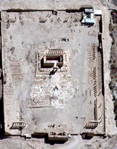 IŞİD tarihi mezarları bombayla patlattı