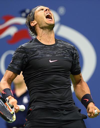 Nadal elendi, Serena az daha eleniyordu