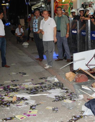 Bartın'da, HDP İl Başkanlığı'na saldırı