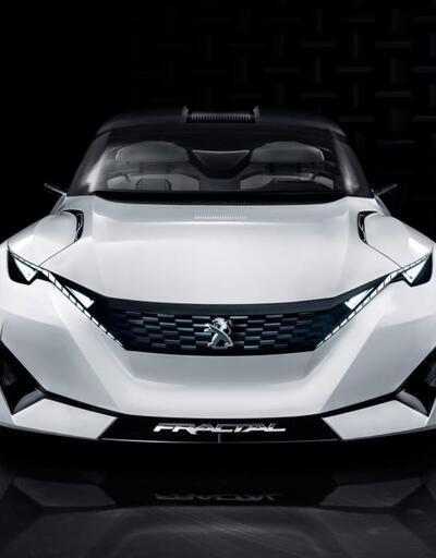 Peugeot'nun göz alıcı konsepti Fractal