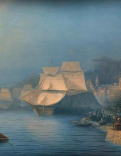 İvan Ayvazovski sergisinde resimler hareket ediyor!
