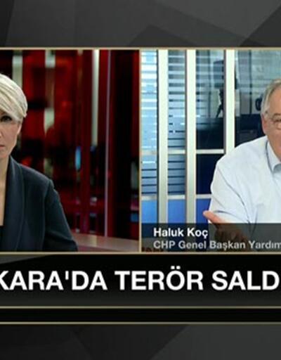 Haluk Koç'tan canlı yayında istifa çağrısı