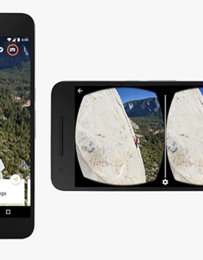 Cardboard, Google Street View'u destekleyecek