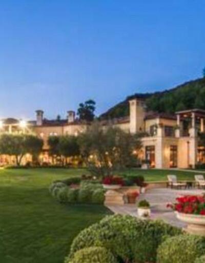 Elton John ve eşi David Furnish'in villası