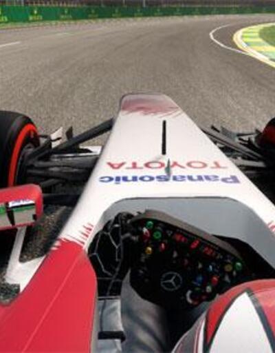 F1 2014 iin Yeni Bir Oynan Videosu!