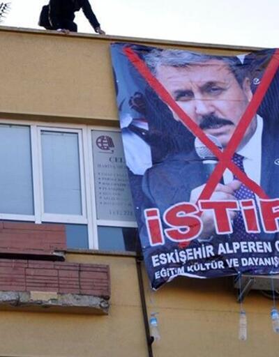 Alperen Ocakları Mustafa Destici'nin istifasını istedi