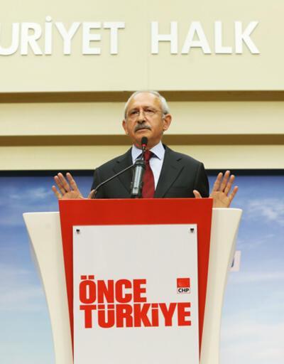CHP lideri Kılıçdaroğlu: Adaylara tepki göstermeyin