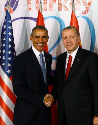 Cumhurbaşkanı Erdoğan ABD Başkanı Obama ile bir araya geldi