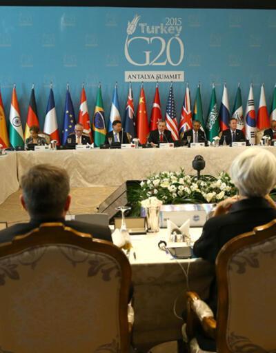 Erdoğan, G20 Zirvesi'nde konuştu