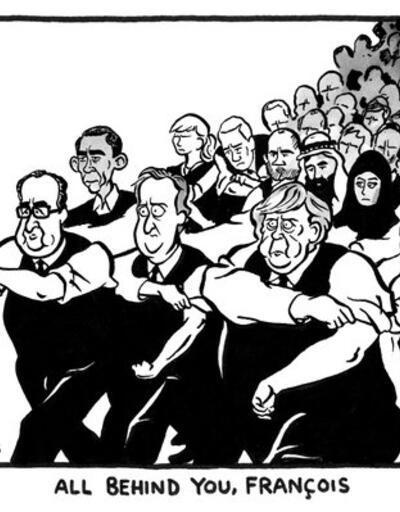 Paris saldırılarına tepki olarak doğan 22 karikatür