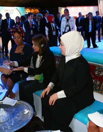First Lady'lere Türk kahvesi dersi