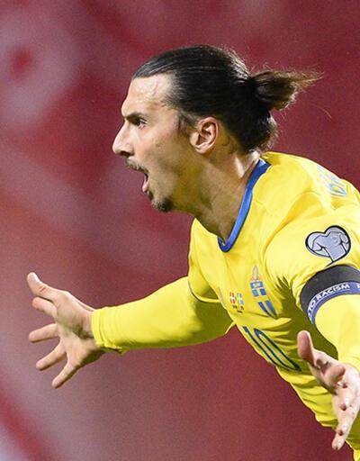 Ibrahimovic İsveç'i Fransa'ya götürdü