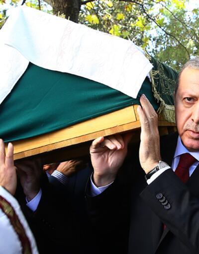 Cumhurbaşkanı Erdoğan Çatalca'da arkadaşının cenazesine katıldı