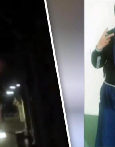 Fransa'daki kadın canlı bombanın kendini patlatma anı