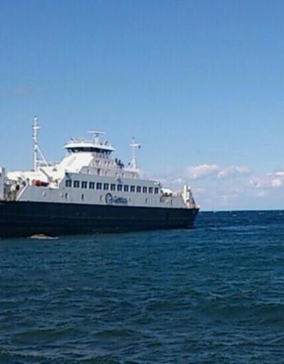 Gökçeada feribotu arızalandı, 140 yolcu denizde kaldı
